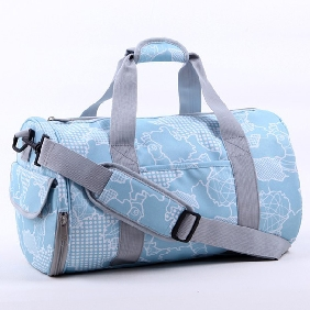 Ladies Canvas Gym Bag Female Pattern Sports Bags Travel Bag for Women